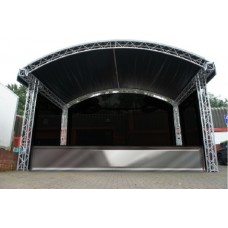 Prolyte 6m x 4m Covered Arc Roof Stage