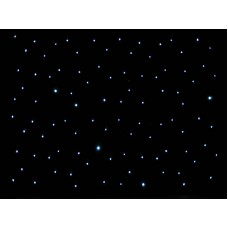 S & H 4X3m LED Black Starcloth